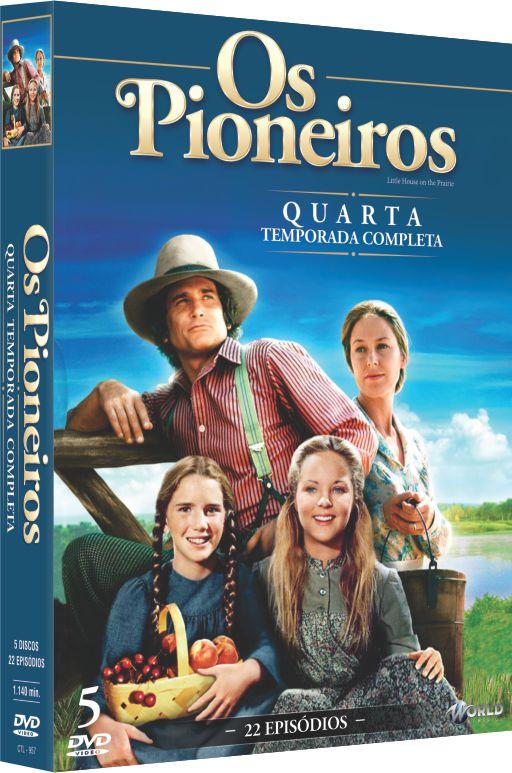 OS PIONEIROS 4ª TEMPORADA COMPLETA - ENTREGA PREVISTA PARA A PARTIR DE 08/11/2019
