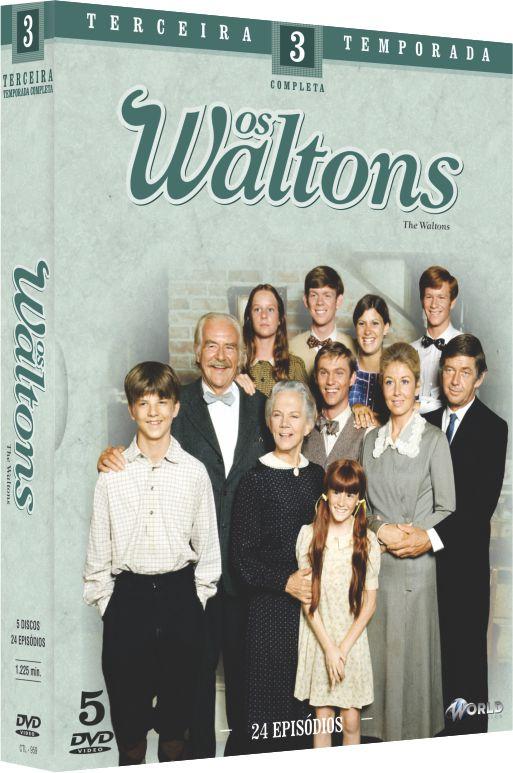 OS WALTONS - 3ª TEMPORADA COMPLETA