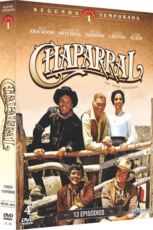 CHAPARRAL - 2ª TEMPORADA VOL.1