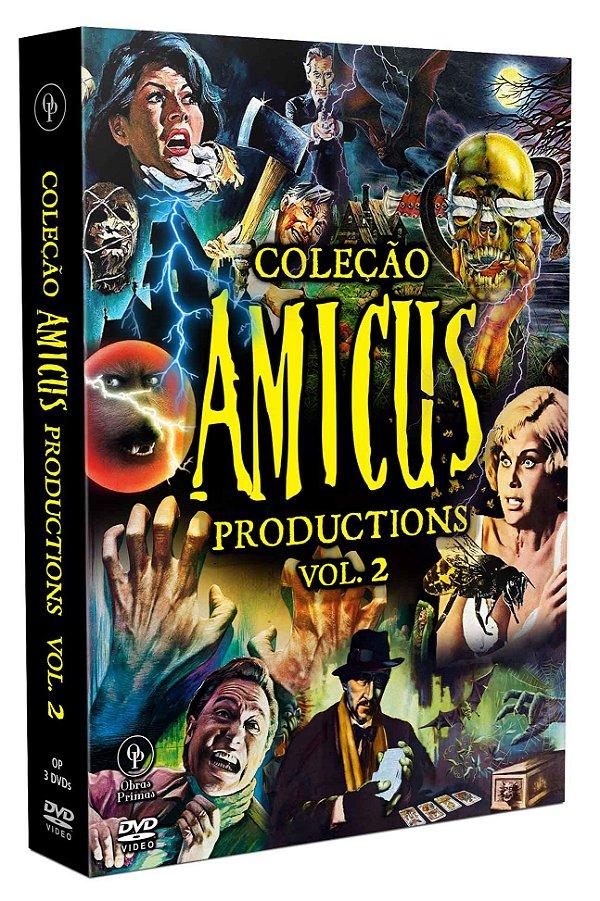 COLEÇÃO AMICUS PRODUCTIONS VOL.2 - 3 DISCOS - ENTREGA PREVISTA PARA A PARTIR DE 13/12/2019