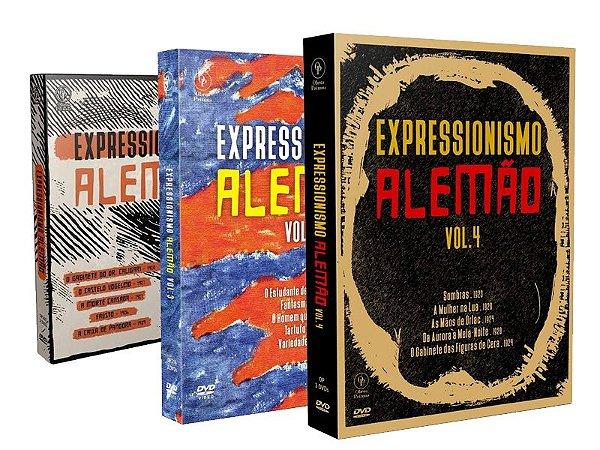 COMBO - EXPRESSIONISMO ALEMÃO VOL. 1 3 E 4