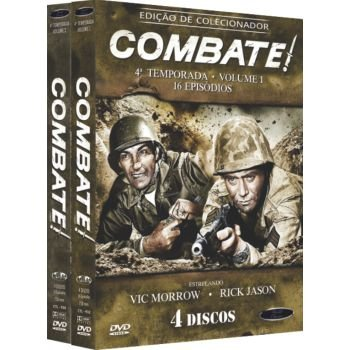 COMBATE! -  4ª TEMPORADA COMPLETA (2 BOXES)
