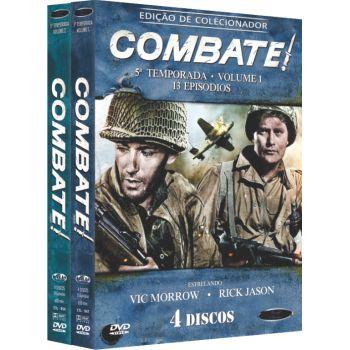 COMBATE! -  5ª TEMPORADA COMPLETA (2 BOXES)