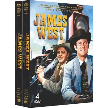 JAMES WEST -  1ª TEMPORADA COMPLETA (2 BOXES)