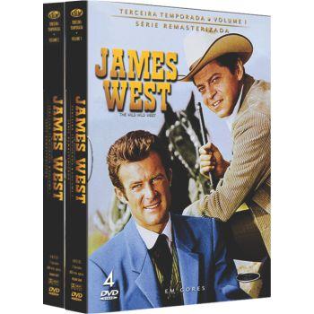 JAMES WEST -  3ª TEMPORADA COMPLETA (2 BOXES)