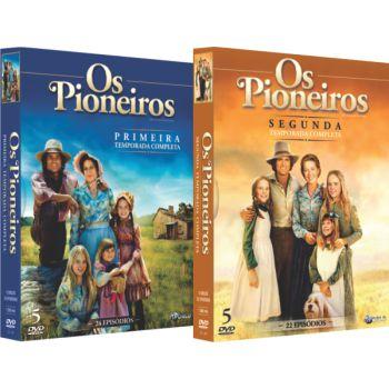 OS PIONEIROS - PRIMEIRA E SEGUNDA TEMPORADA (2 BOXES)