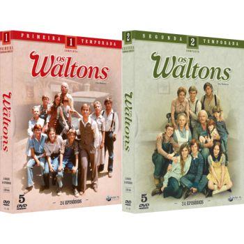 OS WALTONS - PRIMEIRA E SEGUNDA TEMPORADA (2 BOXES)