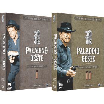 PALADINO DO OESTE - PRIMEIRA E SEGUNDA TEMPORADA (2 BOXES)