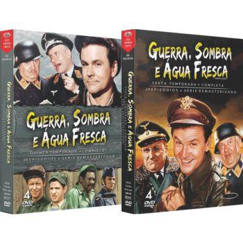 GUERRA, SOMBRA E ÁGUA FRESCA - QUINTA E SEXTA TEMPORADA (2 BOXES)