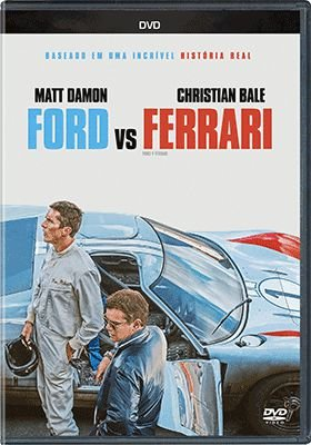 FORD VS FERRARI DVD