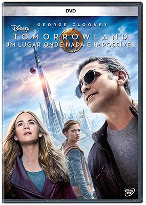 TOMORROWLAND - UM LUGAR ONDE NADA É IMPOSSÍVEL DVD