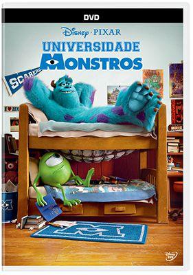 UNIVERSIDADE MONSTROS DVD