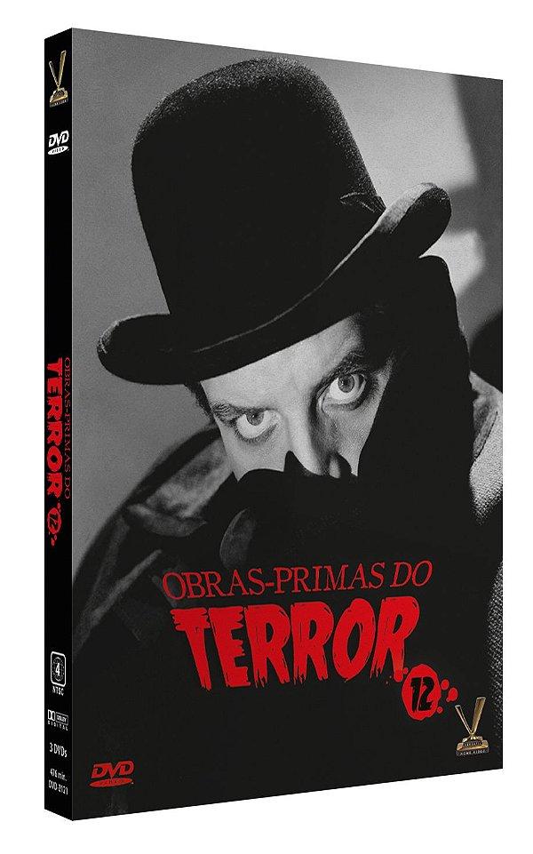 OBRAS-PRIMAS DO TERROR VOL.12 - ENTREGA PREVISTA PARA A PARTIR DE 16/03/2020
