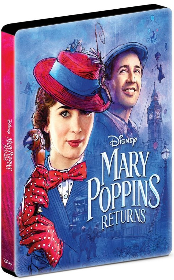 O RETORNO DE MARY POPPINS (STEELBOOK)