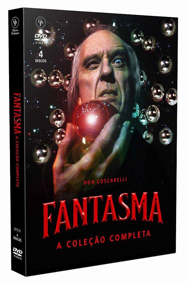 FANTASMA - A COLEÇÃO COMPLETA - DIGIPAK 4 DVDS - ENTREGA PREVISTA PARA A PARTIR DE 29/10/2020