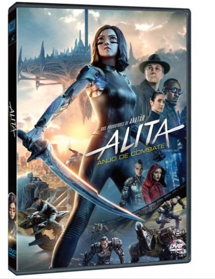 ALITA ANJO DE COMBATE DVD