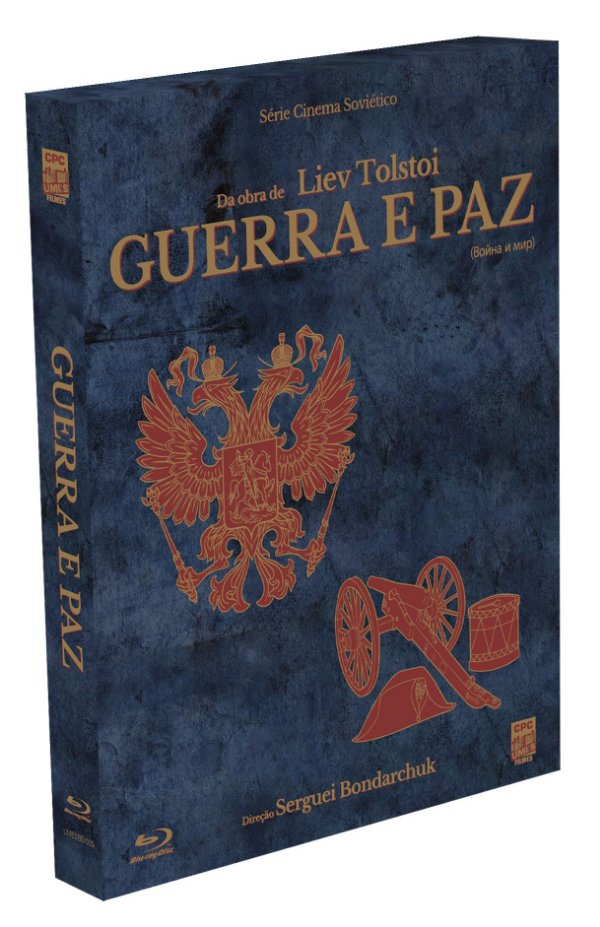 GUERRA E PAZ (1965-1967) -  BLU-RAY*