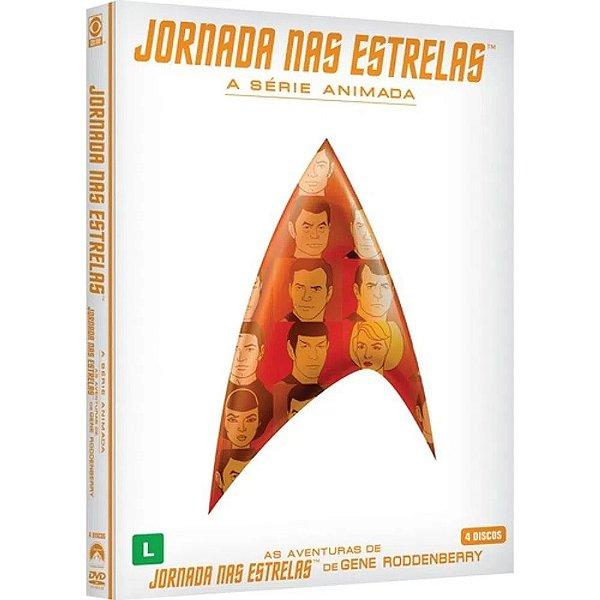 JORNADA NAS ESTRELAS - A SÉRIE ANIMADA - AMARAY COM 4 DISCOS