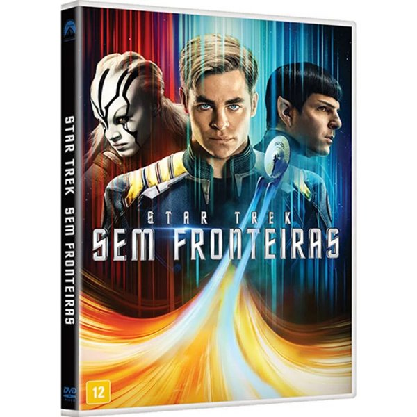 STAR TREK - SEM FRONTEIRAS DVD