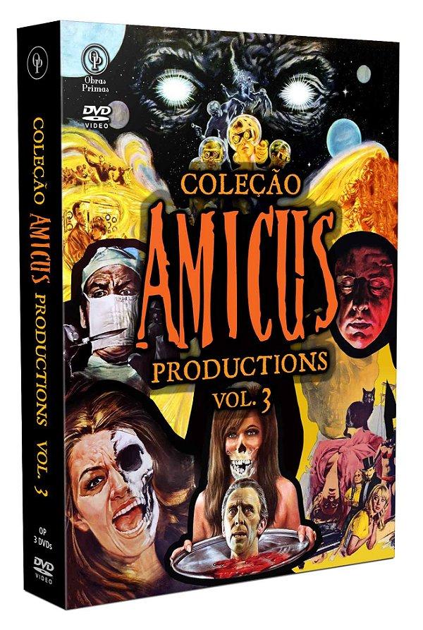COLEÇÃO AMICUS PRODUCTIONS VOL.3 - 3 DISCOS - ENTREGA PREVISTA PARA A PARTIR DE 25/11/2020