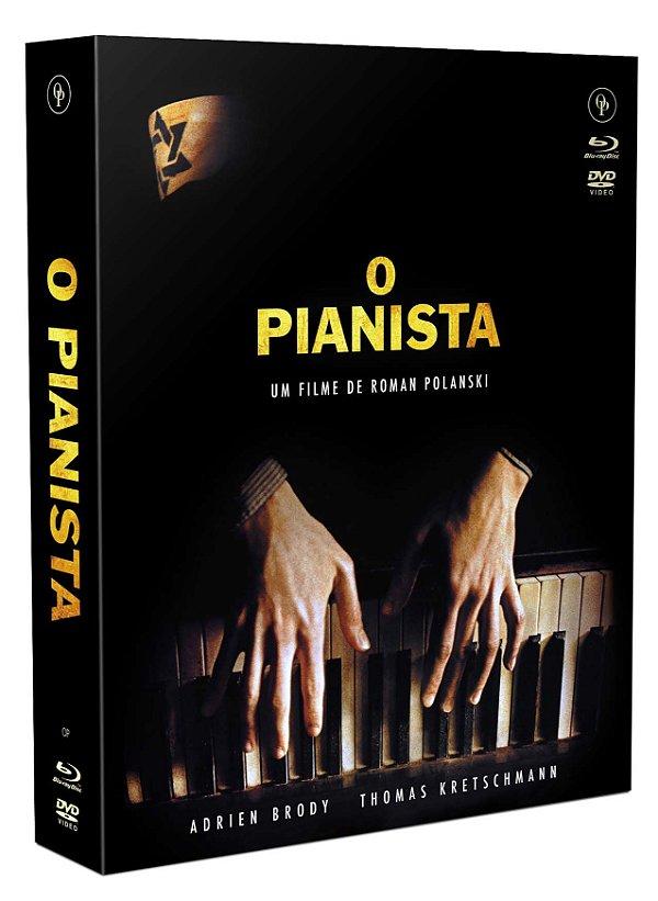 O PIANISTA - EDIÇÃO DE LUXO [DIGIPAK COM 1 BLU-RAY, 1 DVD, 1 CD] - ENTREGA PREVISTA PARA A PARTIR DE 22/12/2020