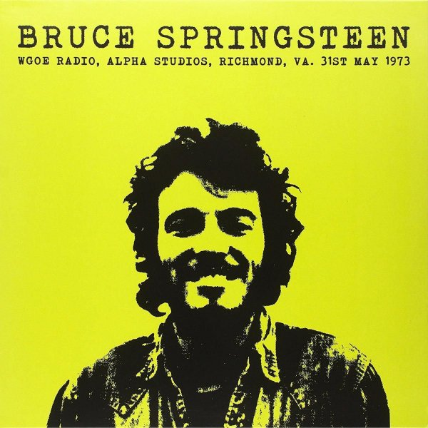 LP BRUCE SPRINGSTEEN - WGOE RADIO