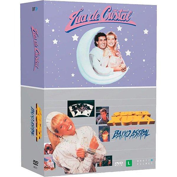 BOX XUXA - LUA DE CRISTAL - SUPER XUXA CONTRA BAIXO ASTRAL