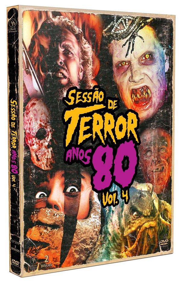 SESSÃO DE TERROR ANOS 80 VOL.4 - ENTREGA PREVISTA A PARTIR DE 08/04/2021