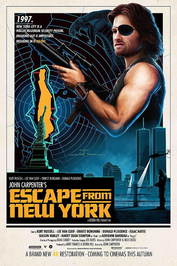 FUGA DE NOVA YORK - EDIÇÃO DE LUXO [DIGIPAK COM 1 BLU-RAY, 1 DVD, 1 CD] - ENTREGA PREVISTA A PARTIR DE 19/04/2021