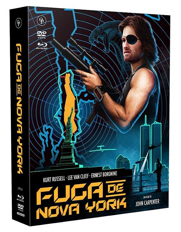 FUGA DE NOVA YORK - EDIÇÃO DE LUXO [DIGIPAK COM 1 BLU-RAY, 1 DVD, 1 CD]