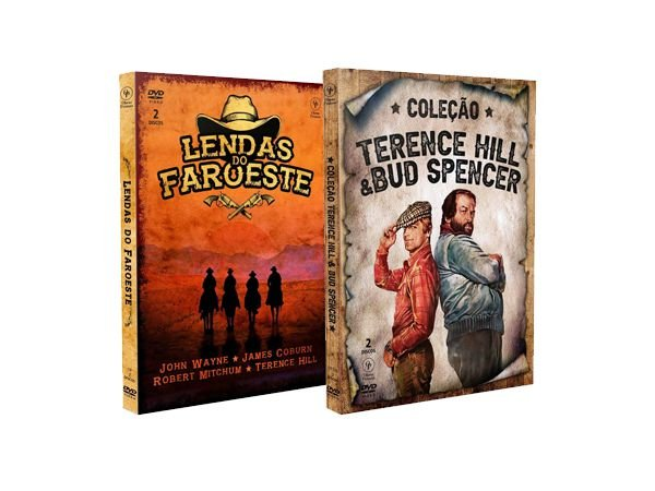 COMBO LENDAS DO FAROESTE + TERENCE HILL & BUD SPENCER