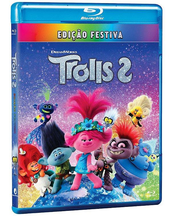 TROLLS 2 - BD - EDIÇÃO FESTIVA