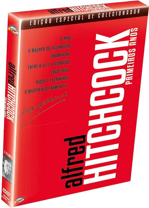ALFRED HITCHCOCK PRIMEIROS ANOS - DIGIPAK - 7 FILMES EM 3 DISCOS