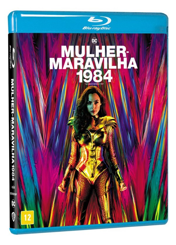 MULHER MARAVILHA 1984 BD - ENTREGA PREVISTA A PARTIR DE 28/04/2021