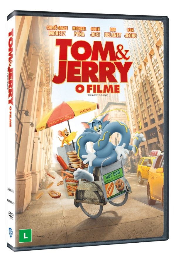 TOM & JERRY: O FILME DVD