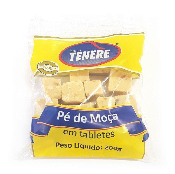 PÉ DE MOÇA EM TABLETES 200g - DOCES TENÉRE