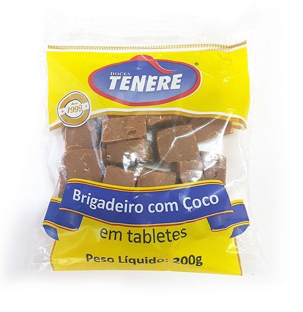BRIGADEIRO COM COCO 200g - DOCES TENÉRE