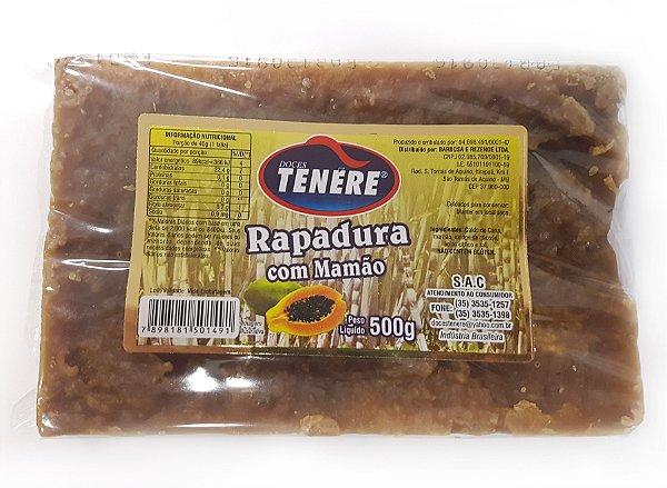 RAPADURA COM MAMÃO 500g -  DOCES TENÉRE