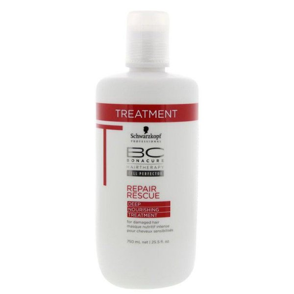 Schwarzkopf Bc Bonacure Repair Rescue Máscara Treatment 750ml
