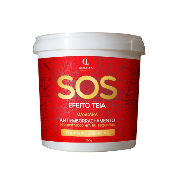 SOS Máscara Anti-Emborrachamento Reconstrução 60 Seg 1 Kilo