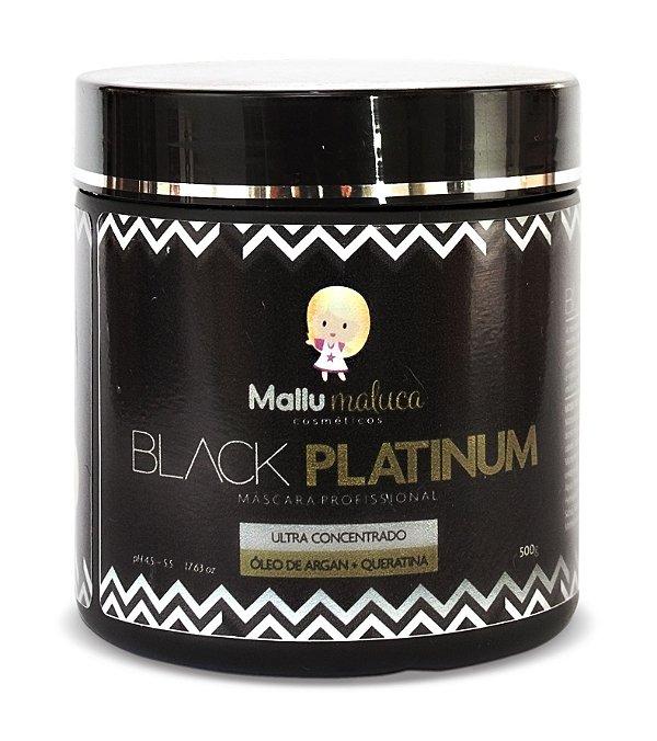 Mallu Maluca Máscara Black Platinum 500g