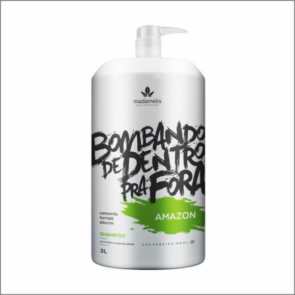 Madamelis Shampoo Lavatorio Amazon Bombando 3 L