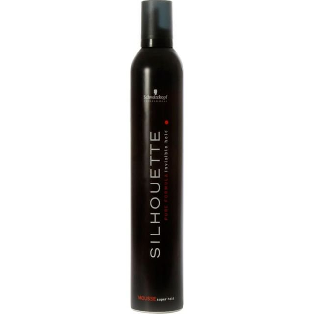 Mousse Fixador Silhouette Schwarzkopf Super Hold 500ml