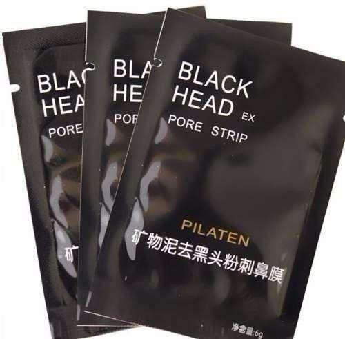 Máscara Removedora de Cravos Black Head Pilaten 3 unidades