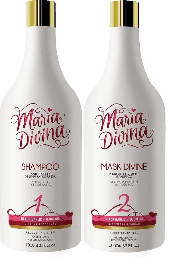Escova Progressiva Maria Divina 2x1 litro