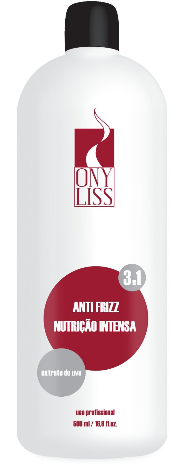Redutor de Volume Anti Frizz Nutrição intensa Ony Liss 500ml