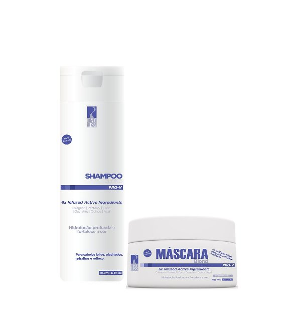 Ony Liss Kit Matizador Blond Shampoo e Máscara 2x250ml