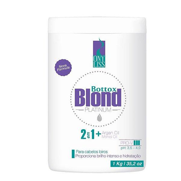 Botox Capilar Ony Liss Bottox Blond Platinum Matizador 1kg