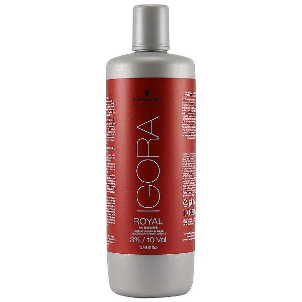 Schwarzkopf Igora Royal Água Oxigenada 3%/10 VoL 1 litro