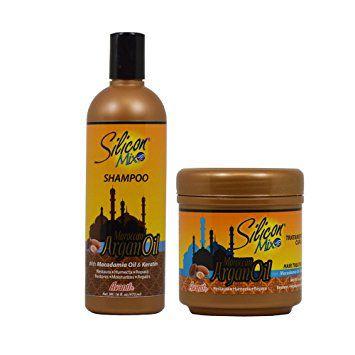 Silicon Mix Kit Shampoo e Máscara Maroccan Argan Oil 450g